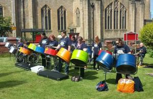 Pantastic Stel Pan Band - Sunderland's Community Steel Band based at GCCP